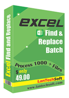 LantechSoft Excel Find and Replace Batch Discount