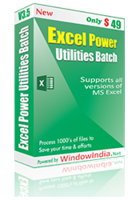 Window India Excel Power Utilities Coupon Code