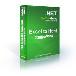 15% Excel To Html .NET – Site License Coupon Discount