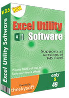 TheSkySoft Excel Utility Software Coupons