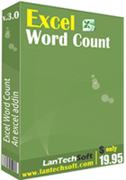 Excel Word Count Coupon