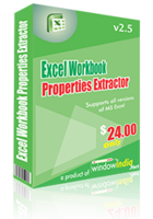 Excel Workbook Properties Extractor – Exclusive 15% off Discount