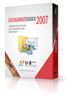 U-BTech Solutions Exchange Tasks 2007 Extended Support Silver Coupon Sale