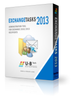 U-BTech Solutions Exchange Tasks 2013 – 500 Mailbox License Coupon Code