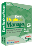 15% OFF – Execl Duplicate Manager