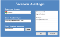 Exclusive Facebook AutoLogin Coupon Code