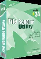 File Rename Utility Coupon Discount