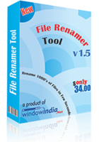 Window India File Renamer Tool Coupon