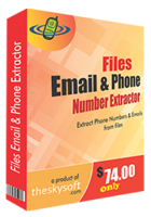 Files Email and Phone Number Extractor – 15% Discount