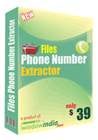 Window India – Files Phone Number Extractor Coupon