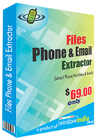 Window India – Files Phone and Email Extractor Coupon Discount