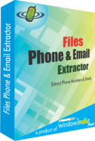 Window India Files Phone and Email Extractor Coupon