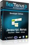 15% OFF – FlexiMenuJS for Dreamweaver Developer Edition – unlimited websites 1 user