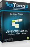 FlexiMenuJS for Dreamweaver bundle – Designer Edition – 1 Website 1 User Coupon 15%
