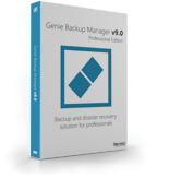 Genie Backup Manager Professional 9 – 5 Pack Coupon Code