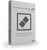 Genie Backup Manager Server Standard 9 – Exclusive 15% Discount