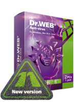 Doctor Web France Home products (Dr.Web Anti-Virus)+Free protection for mobile device! Coupon Sale