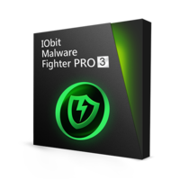 IObit Malware Fighter 3 PRO  (with eBook) – 15% Sale
