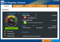 IU Registry Cleaner (1 PC 1 MONTH LICENSE) Coupon 15%