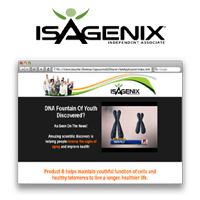 Exclusive Isagenix Product B Page ~ Yearly Subscription Coupon Discount