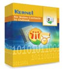Kernel for Notes Contacts to Outlook – Corporate License Coupon