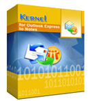 Kernel for Outlook Express to Notes – Home License Coupons