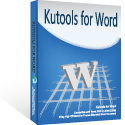 Kutools for Word Coupon – 20%