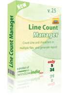 Window India – Line Count Manager Coupons
