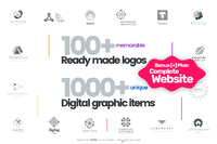 15% Off Logo[+]Creator – Instant Download. Extended License. Coupon