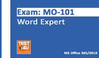 15% Off MO-101 Word Expert Exam – Office 365 & Office 2019 – English version – 25 hours access Coupons