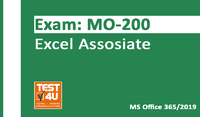 Test4u.eu – MO-200 Excel Associate Exam – Office 365 & Office 2019 – English version – 25 hours of access Sale