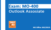 Test4u.eu MO-400 Outlook Associate Exam – Office 365 & Office 2019 – English version – 25 hours of access Coupon