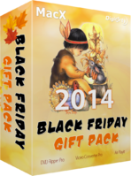 Digiarty Software Inc. MacX Black Friday Gift Pack Discount