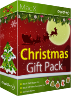 Digiarty Software MacX Christmas Gift Pack Coupon Sale