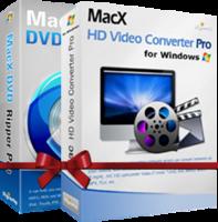 Unique MacX DVD Video Converter Pro Pack for Windows Coupon Code
