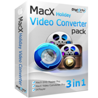 Digiarty Software Inc. MacX Holiday Video Converter Pack (for Windows) Coupons
