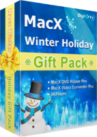 Digiarty Software Inc. – MacX Winter Holiday Gift Pack (for Windows) Sale