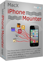 MacX iPhone Mounter Coupon Code