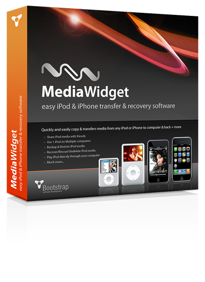 Easy iPod Transfer MediaWidget Coupon – 25% OFF