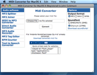 Midi Converter for Mac (Business License) Coupon 15% Off
