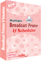 Secret Multiple Broadcast Printer N Scheduler Coupon Code