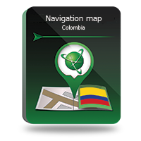 "15 Percent – Navitel Navigator. ""Colombia"" (365 days)"
