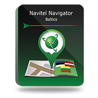 "Navitel Navigator. ""Lithuania Latvia Estonia"". Coupon"