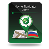 15 Percent – Navitel Navigator. Southern Federal district of Russia