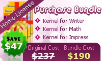 OpenOffice Repair Software – Home License Coupons