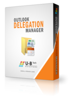 U-BTech Solutions Outlook Delegation Manager – Enterprise Edition Coupon Sale