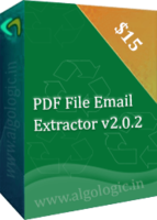 AlgoLogic PDF Email Address Extractor (3 Years License) Coupon Sale