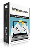 PDFtoTxt Converter Coupon