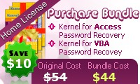 Password Recovery Software – Home License Coupon