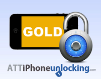 Attiphoneunlocking – Permanent Factory Unlock for AT&T iPhone – GOLD – 1-7 Business days Sale